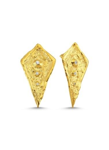 Reian Jewelry Iceberg Küpe Altın